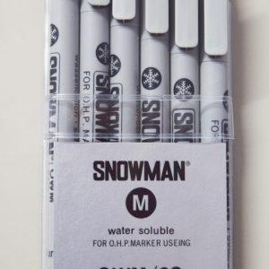 Snowman Water-Soluble Marker