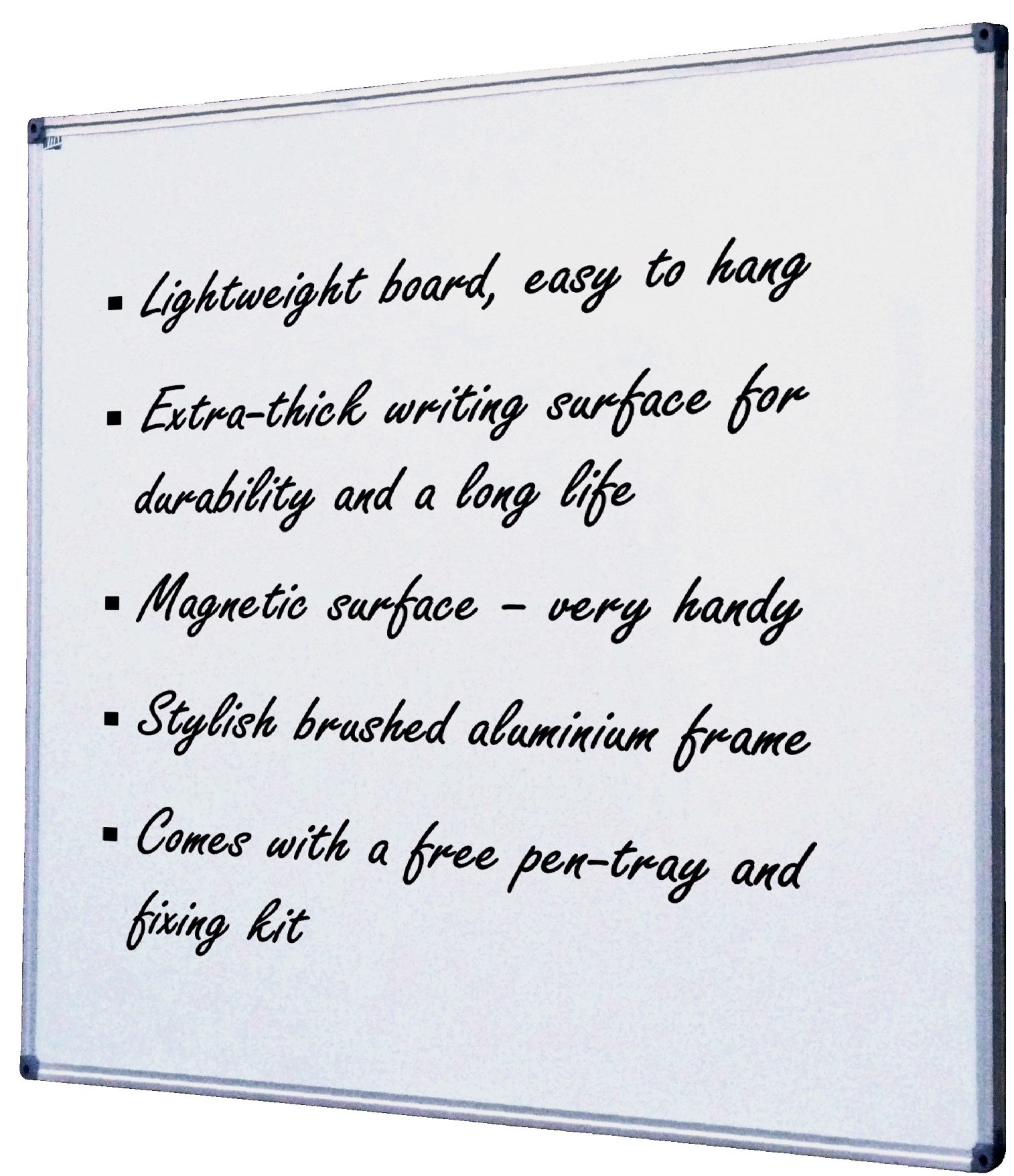 Acrylic magnetic whiteboard