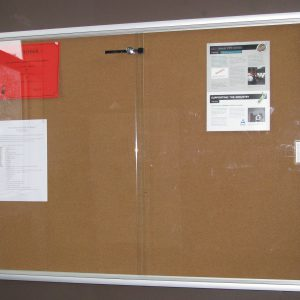 9x12 glass noticeboard dp
