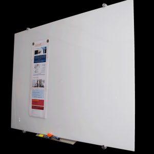 Super clear glass whiteboard