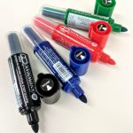 LARGE TIP WHITEBOARD MARKER REFILLABLE